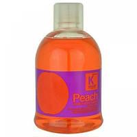 Шампунь для ежедневного использования, для сухих и ломких волос Персиковый 1000 мл  Kallos, фото 1