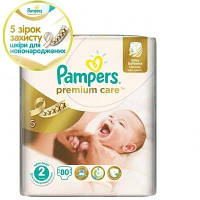 Подгузники Pampers Premium Care Mini 3-6 кг, 80 шт. (2208835)