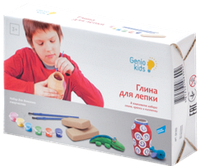 Набор для детского творчества Глина для лепки Genio Kids (XYG001)