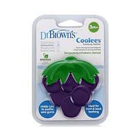 Прорезыватель Dr. Brown's™ Coolees - Grape, 3 м+