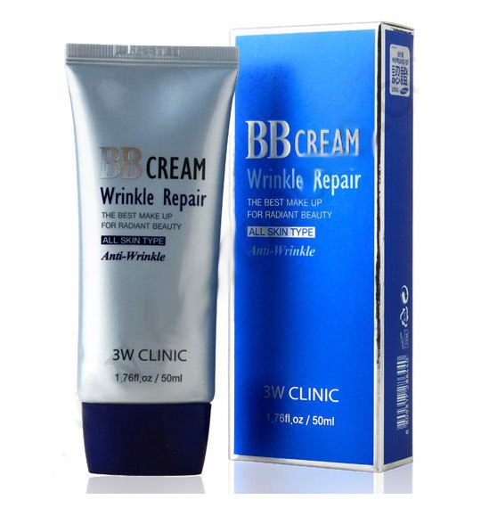Антивозрастной ББ-крем с коллагеном 3W CLINIC Wrinkle Repair BB Cream - 50ml - BEREZKA SHOP в Киеве