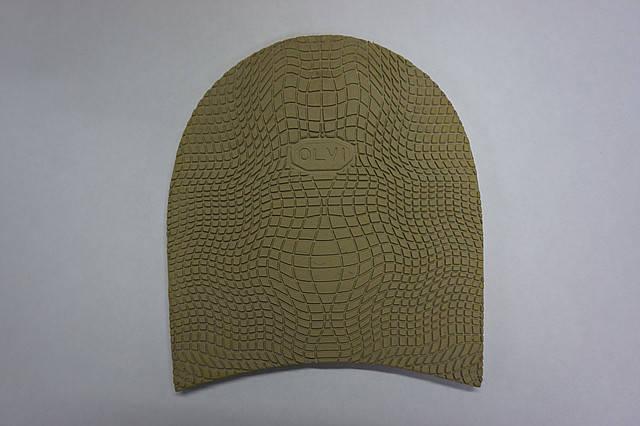 Формованная резиновая набойка для обуви ОЛВИ (Украина) беж,, фото 2