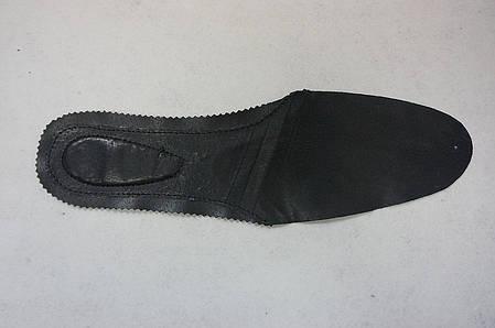 Стелька кожаная цвет черный, фото 2