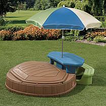 Песочница Step2 8437 со столиком и зонтом, фото 2