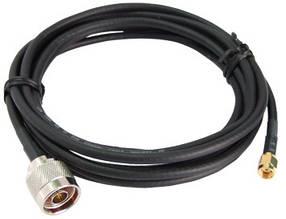 ALFA CFD-200 N-SMA 0.5м low loss кабель пигтэйл, фото 2