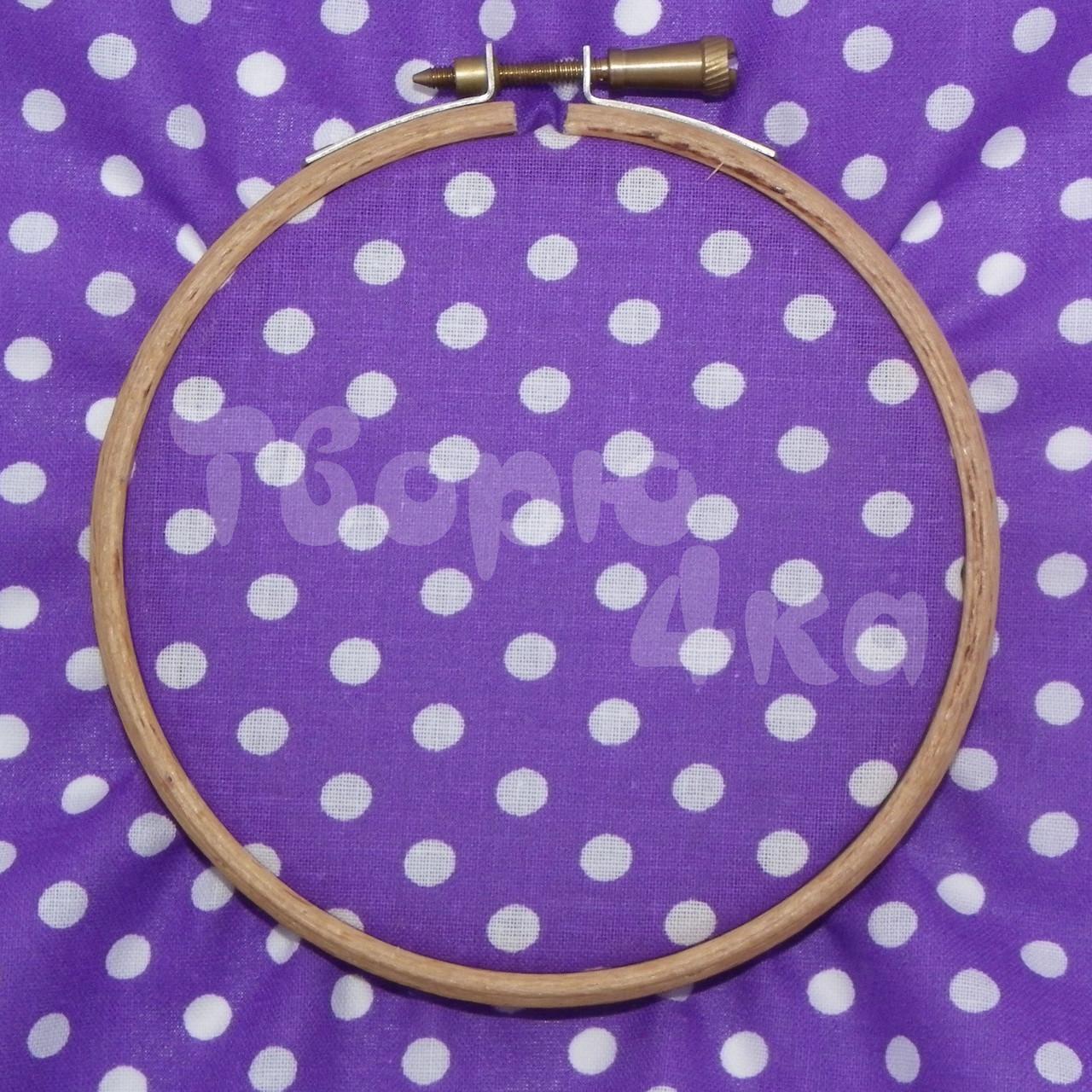 Ткань для пэчворка, кукл тильда фиолетовая в горох