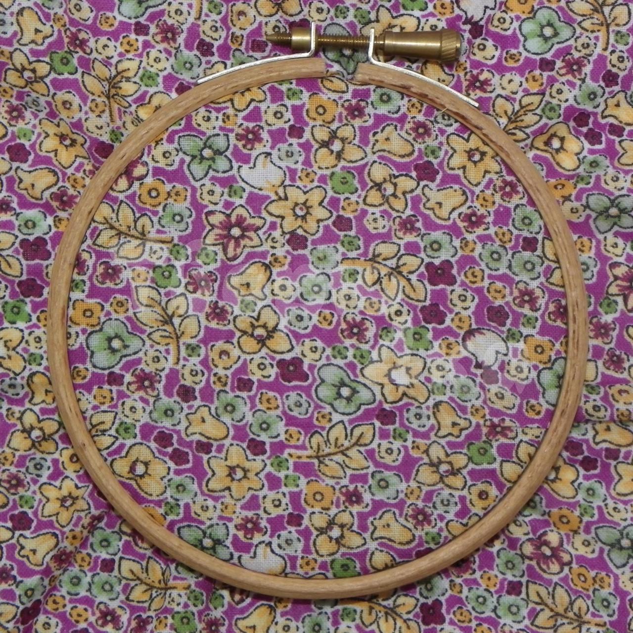 Ткань для пэчворка, кукл тильда сиреневая в цветочек