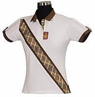 Женская футболка поло BAKER для конного спорта