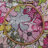 Ткань для пэчворка, кукл тильда в цветы