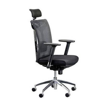 Кресло для офиса с подголовником КРЕДО