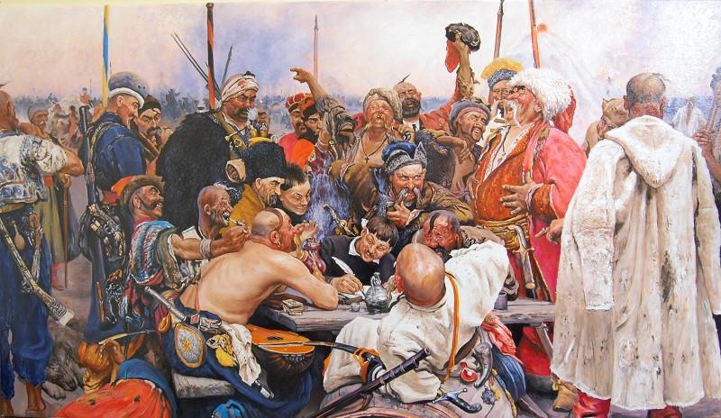 Картинки по запросу Письмо запорожцев турецкому султану