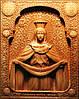 Икона резная Покров Пресвятой Богородицы