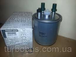 Фильтр топливный на Рено Кенго II (с отвертием под датчик) 1.5 dCi (2008>) - Renault (Оригинал) 164001137R