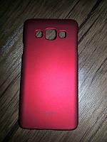 "Moshi iGlaze""Snap on Case"" Samsung A300 (A3) Red"