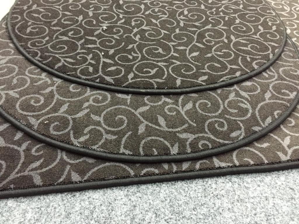 Круглые ковры.
