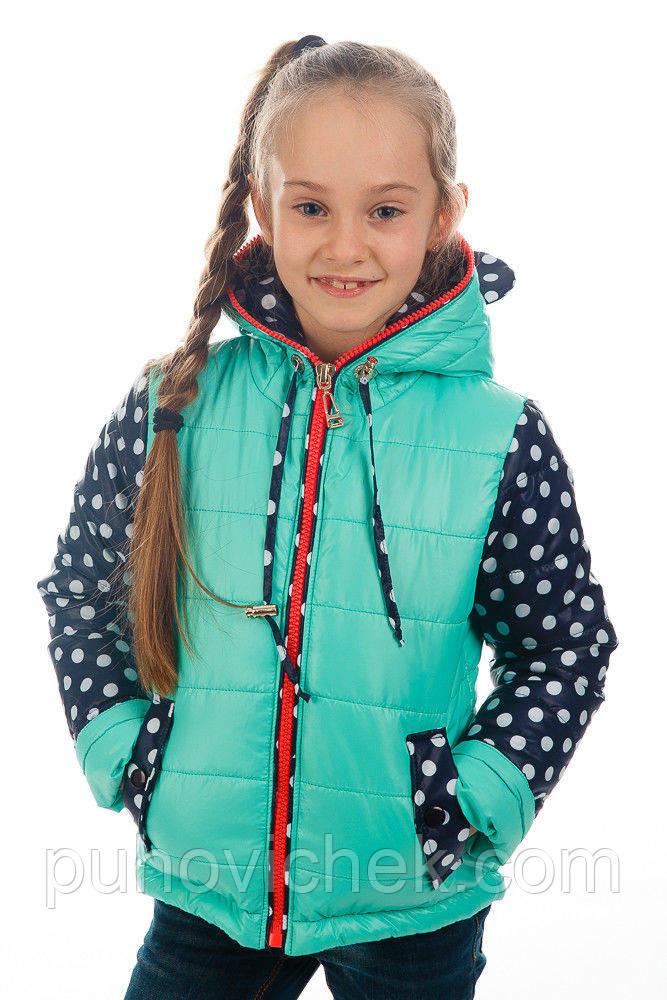 Модні дитячі курточки для дівчаток, весняні