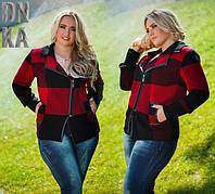 Женская куртка большого размера, фото 1