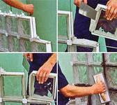 Крестики распорные для стеклоблоков