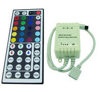 Контроллер однозональный с пультом LC10 RGB