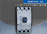 Автоматический выключатель NM1-400S 350А 3-пол.