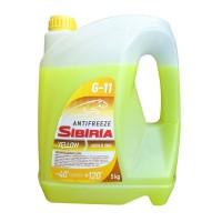 Антифриз SIBIRIA  желтый 5л