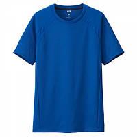 Футболка Uniqlo Dry EX Crew Neck Blue