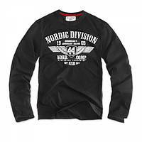 Футболка лонгслив Dobermans Aggressive Nordic Division v7 Black