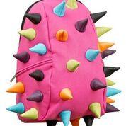 Брендовый школьный рюкзак MadPax Rex Full цвет Pink Multi (розовый мульти)
