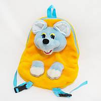 Рюкзак детский Мышка желтый