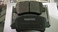 Тормозные колодки передние Renault Master III 2.3 DCI с 2010(сист.Bosch маленькие)(04.0158)