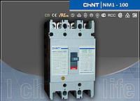 Автоматический выключатель NM1-125S 100А 3-пол.