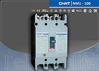 Автоматический выключатель NM1-125S 63А 3-пол.