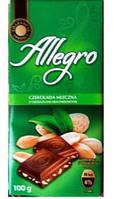 Шоколад Allegro с арахисом 100g Польша