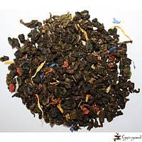 Зеленый ароматизированный чай Teahouse Клубничное очарование