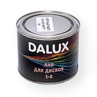 Краска для дисков Dalux 0,5л, черный мат
