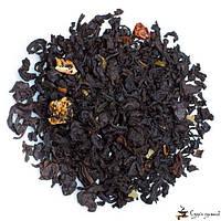 Черный ароматизированный чай Teahouse Земляника со сливками
