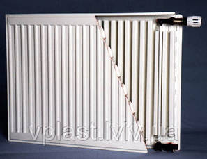 Радиатор стальной DJOUL 22 тип 500х1000 бок, фото 3