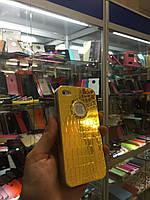 Чехол силиконовый ХАМЕЛЕОН для iPhone 5/5s, желтый/оранжевый