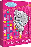 Папка для тетрадей картонная, на резинке, 3 дизайна (для девочек) 1 Вересня 500194 , фото 1