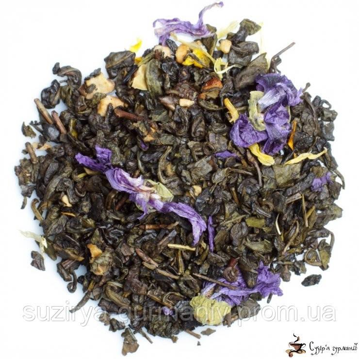 Зеленый ароматизированный чай Teahouse Ночь Клеопатры, фото 1
