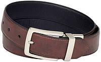 Ремень Levi's Men's 35MM Reversible Belt With Silver Buckle new