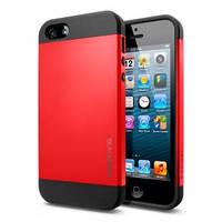 Чехол SGP Slimarmor для iPhone 4/4s, красный, фото 1