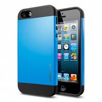 Чехол SGP Slimarmor для iPhone 5/5s, синий, фото 1