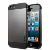 Чехол SGP Slimarmor для iPhone 5/5s, серый