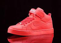 Кроссовки Nike Air Force, красного цвета