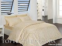 Комплект постельного белья First Choice Satin Vanessa Gold, фото 1