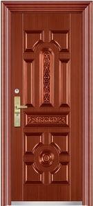 """Двери входные """"L - 031""""Богатырь металлическая медь"""