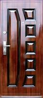 """Двери входные """"А - 003""""Богатырь металлическая тефлон"""