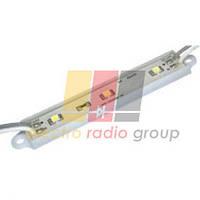 Светодиодные модули на светодиодах  SMD 3528 ( 3 шт   IP68)