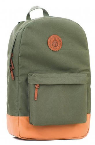 Универсальный городской рюкзак с отделением для нетбука (планшета, iPad) на 17 л GIN БРОНКС XL-khaki